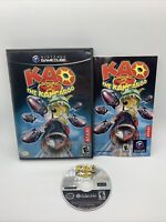 Kao the Kangaroo Round 2 (Nintendo GameCube, 2006) With Manual Tested