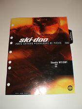 SKIDOO  PARTS CATALOG  MANUAL 2003 SKANDIC WT / SWT 500F 600
