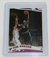 2005-06 Topps Chrome Tim Duncan #13 🏀 San Antonio Spurs NBA Basketball Card 🏀