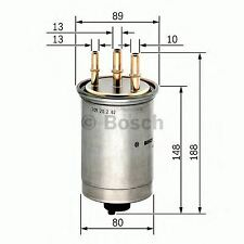 BOSCH ENGINE FUEL FILTER OE QUALITY REPLACEMENT 0450906508