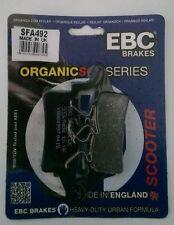 Yamaha BWs125 YW125 2010 - 2013 EBC Organic FRONT Disc Brake Pads SFA492