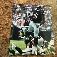 Akiem Hicks Signed 8x10 Photo Chicago Bears Autograph