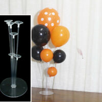 1Set Balloons Column Stand Plastic Balloon Support with 7tubes for Party Decor A