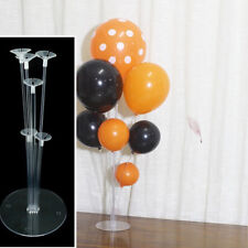 1Set Balloons Column Stand Plastic Balloon Support with 7 Tubes Party Supplies A