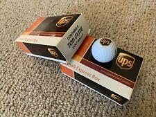 12 Ups Logo Golf Balls Top Flite Original Boxes