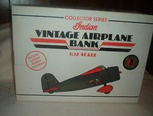 1932 Lockheed Vega Vintage( INDIAN) Airplane Diecast Scale 1:32 Coin Bank#35009
