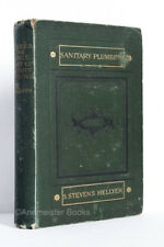Hellyer: Lectures on the Science and Art of Sanitary Plumbing   1883 Hardcover