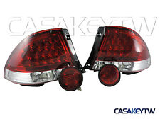LEXUS IS200 IS300 98-05 LED RED CLEAR Tail Lights+Rear Trunk Led Lights ALTEZZA