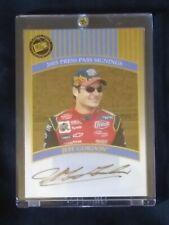 RARE 2003 Jeff Gordon Press Pass Gold Signings Autograph 36/50