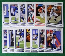 2018 Score New York Giants Team Set.  Saquon Barkley RC, 14 cards 2 RC