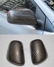 Side Mirror Cover trim for Toyota 07-11 Yaris Camry 09-11 Corolla Matrix fiber P