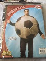 New Get Real Soccer Ball Sport Funny Party Dress Up Women Men Costume one size