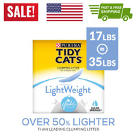 Purina Tidy Cats LightWeight Glade Clumping Cat Litter Glade Clear Springs 17 lb