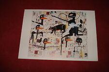 ART CARD: JEAN-MICHEL BASQUIAT Tenor colour