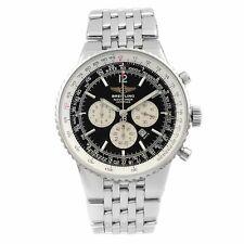 Dial Negro Acero Breitling Navitimer patrimonio Automático para Hombre Reloj A35340