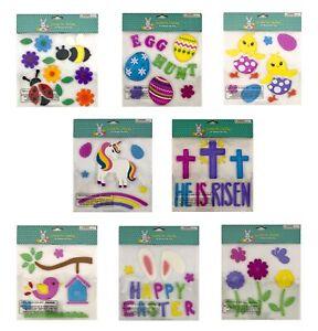 50+ Spring Summer Decoration Decor Window Sticker Gel Cling Flowers Bees Birds