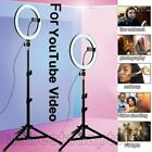 18'' LED SMD Ring Light Kit With Stand Dimmable 5500K For Camera Makeup Phone US
