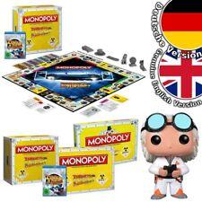 Monopoly Zurück in die Zukunft Back to the Future Spiel Brettspiel Game Blu-Ray