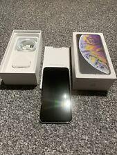 Apple iPhone XS Max - 256GB - Silver White (Unlocked)