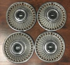 "Factory Original Vintage Chevrolet 14"" Set of Four Wheel Covers 1963 #CHEV7"