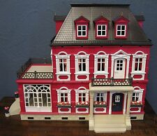 CUSTOMIZED PLAYMOBIL VICTORIAN DOLLHOUSE MANSION 5300 5305 - ONE OF A KIND!