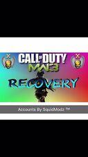 Modern Warfare 3 MW3 modifizierte Account Recovery/gehackt Account PS3