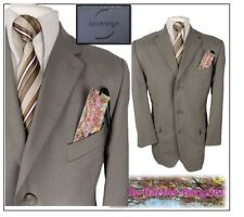 "Sovereign 2 piece mens suit Ch40S"" W34"" L26"" Natural Stone"