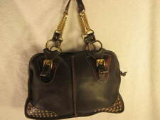 Authentic Gabriell Brown Leather Shoulder Bag