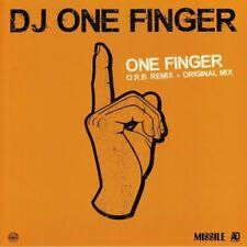 """DJ ONE FINGER - One Finger - Vinyl (orange vinyl 12"""")"""