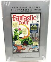 Fantastic Four Volume 1 Collects 1-10 Lee Kirby Marvel Masterworks HC New Sealed