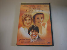 Sense & Sensibility  DVD Emma Thompson, Kate Winslet, James Fleet, Tom Wilkinson