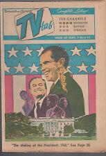 Democrat & Chronicle TV Tab September 7 1968 The Making of the President Nixon