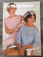 "Marriner Knitting Pattern: Ladies Sweater & Top, 32-40"", 2009"
