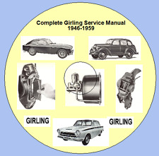 Complete Girling Service Manual 1946-1959