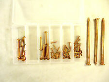 Non Sparking Round Head Rivet Pins and Nail Assortment, New/Other