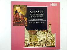 LP MOZART piano concerto, Walter Klien TV 34503s