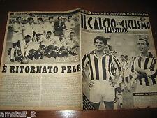 IL CALCIO E CICLISMO ILLUSTRATO 1962/37=GUIDA CAMPIONATO=CALENDARIO 1962/63=