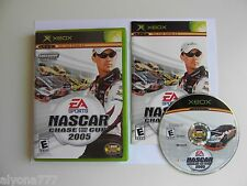 NASCAR 2005: Chase for the Cup  (Xbox, 2004) Adult Owned.