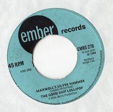 "Good Ship Lollipop - Maxwell's Silver Hammer 7"" Sgl 1969"