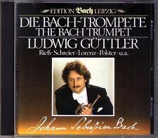 Ludwig GÜTTLER: DIE BACH-TROMPETE Tönet ihr Pauken Sinfonia CD GUTTLER Trumpet