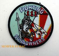 VF-111 SUNDOWNERS BABY FIGHTING 111 PATCH F-14 TOMCAT US NAVY NAS MIRAMAR GIFT