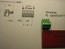 Crestron Adagio, connector plug, green, 4 pin connector