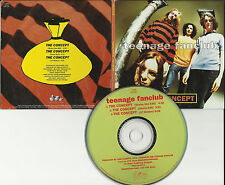 TEENAGE FANCLUB The Concept w/ Status Quo & Denim RARE EDITS DJ PROMO CD single