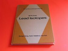 Lead Isotopes Minerals Rocks and Inorganic Materials  Vol 3 Bruce Doe Geology HB