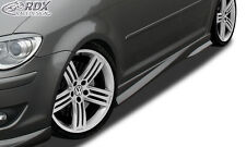 "RDX retrasadas VW Touran 1t 1t1 1t2 1t3 faldones ""Turbo"" set alerón"