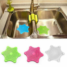 Kitchen Sink Strainer Silicone Bath Hair Stopper Shower Rubber Drain Cover Plug