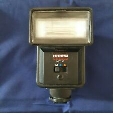 TWO FILM CAMERA FLASHES: Cobra MD210 & Vivitar 2500 - both tested and working