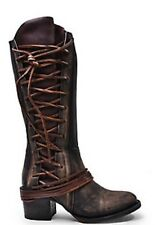 FREEBIRD SHOES CASH CORSET LACE UP BOOTS  LEATHER 6 NEW