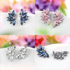 Elegant Fashion Women Crystal Rhinestone Ear Drop Dangle Stud Earring Jewelry