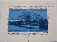 Stadspost Nijmegen - Blok 70ste Vierdaagse 1986, Waalbrug, Waal Bridge